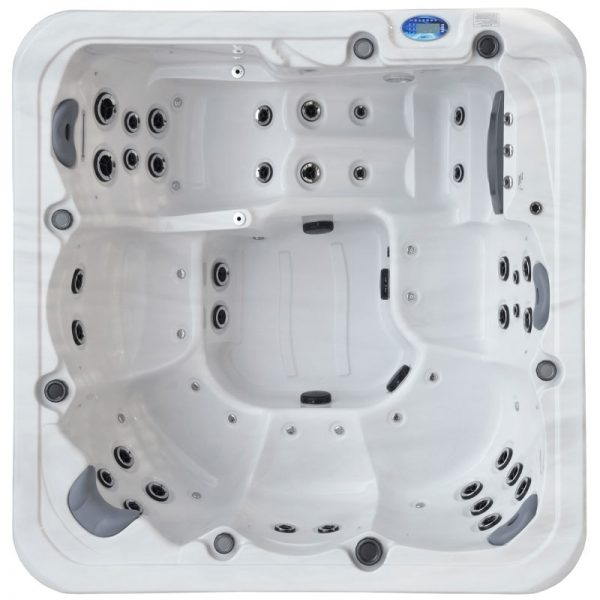 Oasis Pacific Spa Platinum Hydro Top View