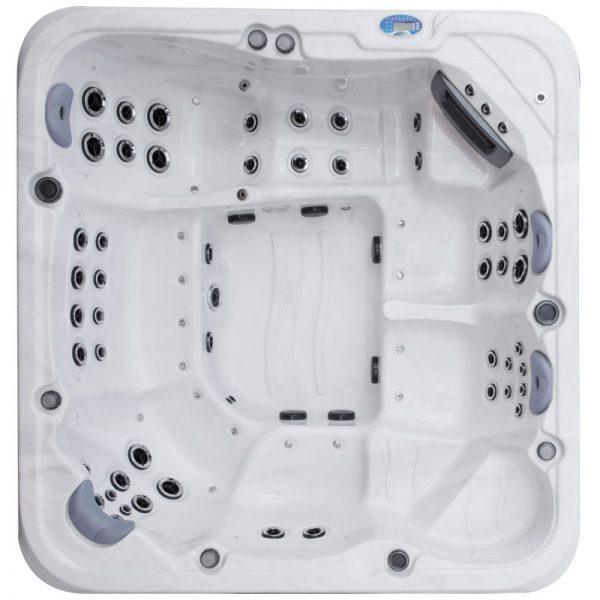 Oasis Riviera Spa Platinum Pro Top View