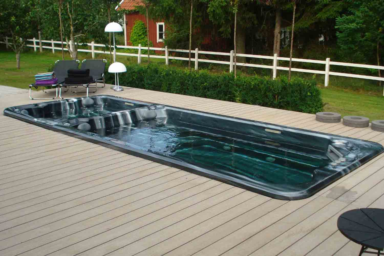 Can I install my swim spa in-ground?